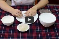 Cách làm sạch tổ yến thô (Cách 1)