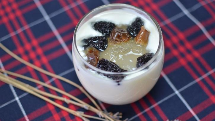 Sữa chua yến sào (Yaourt yến sào) bước 4
