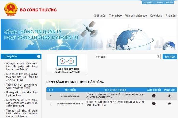 yensaophuyen trên trang http://online.gov.vn